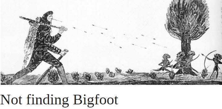 Not Finding Bigfoot | OUPblog