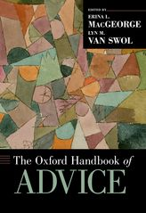 The Oxford Handbook of Advice